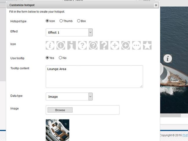 Interactive Image Gallery Screenshot 7