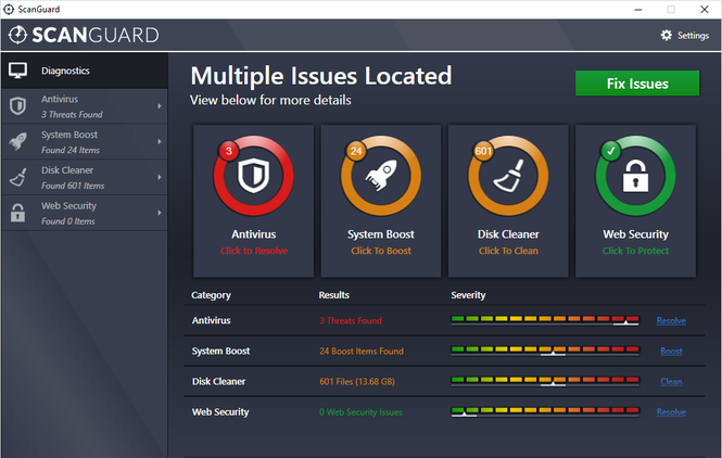 Scanguard Screenshot