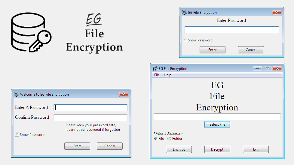 EG File Encryption Screenshot