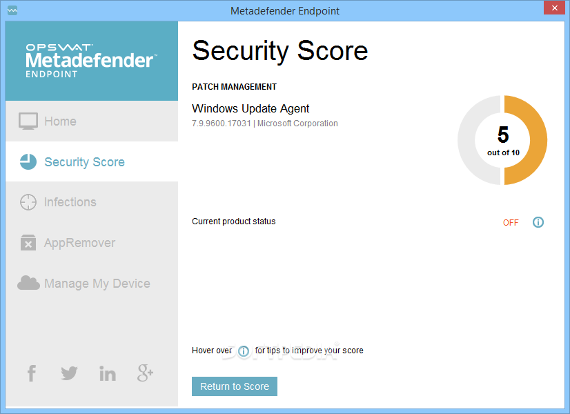 Endpoint Security Management For Win Screenshot 4