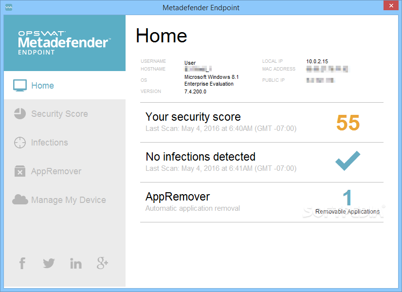 Endpoint Security Management For Win Screenshot 3