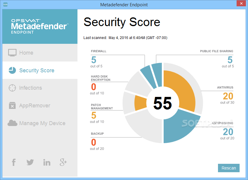 Endpoint Security Management Screenshot 2