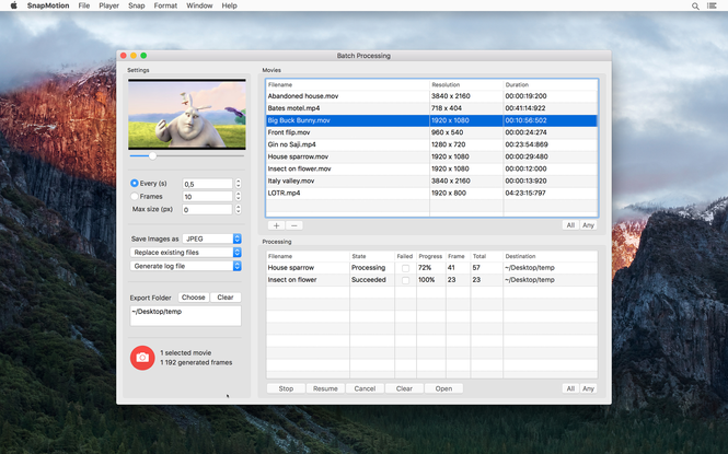 SnapMotion Screenshot 4