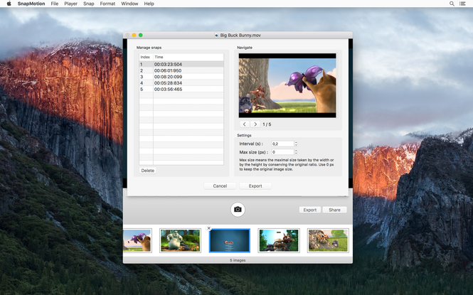 SnapMotion Screenshot 2