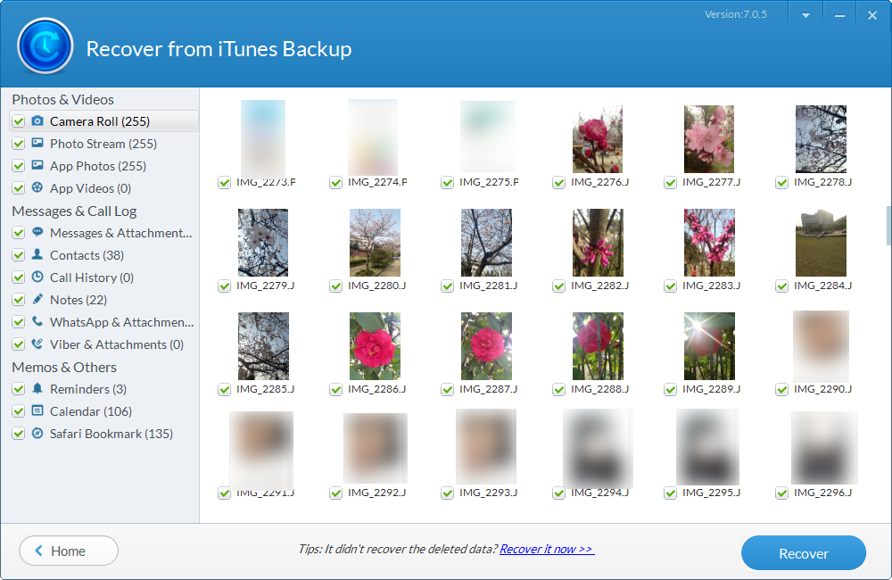 iphone backup extractor free