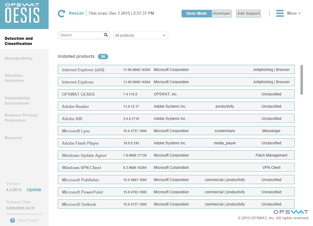 OESIS Endpoint Assessment Free Screenshot 3