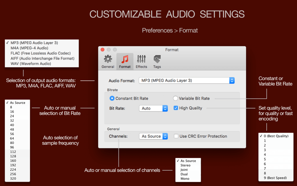 To Audio Converter Screenshot 2