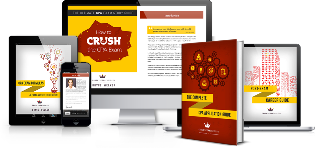 Crush CPA Study Guide Screenshot