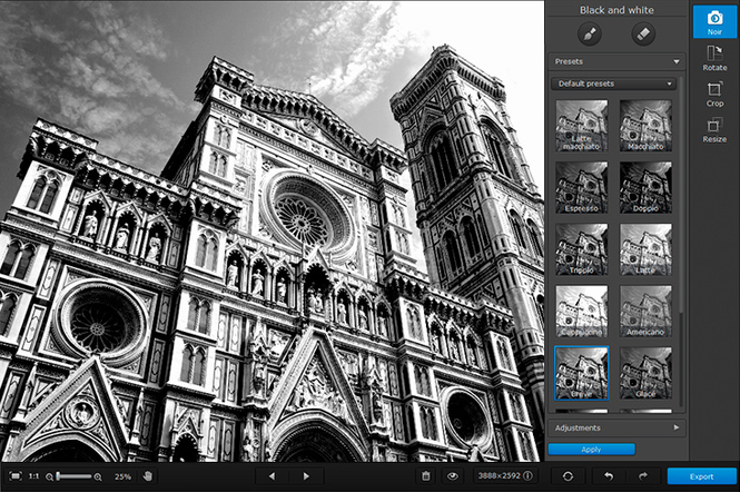 Movavi Photo Noir for Mac Screenshot 3