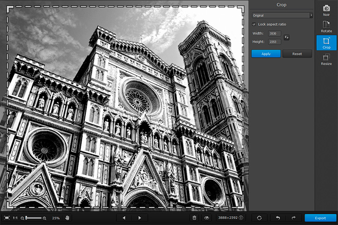 Movavi Photo Noir for Mac Screenshot