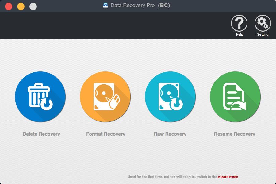 bighorncattle Data Recovery For Mac Screenshot 2