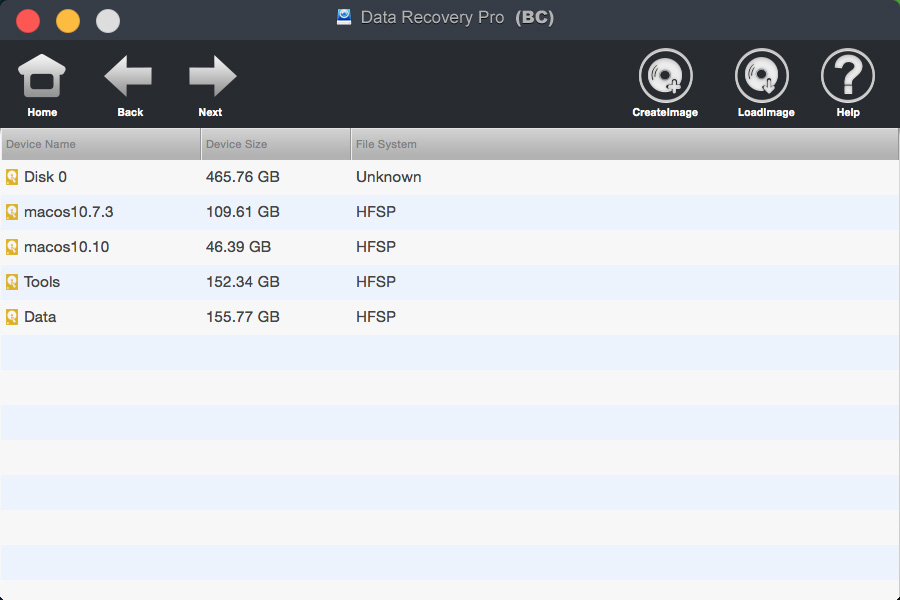 bighorncattle Data Recovery For Mac Screenshot 3
