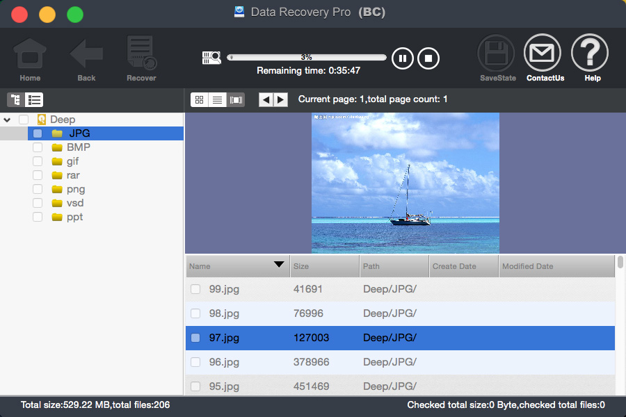 bighorncattle Data Recovery For Mac Screenshot 5