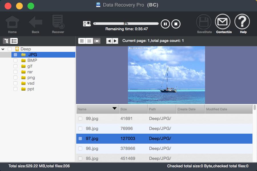 bighorncattle Data Recovery For Mac Screenshot 5