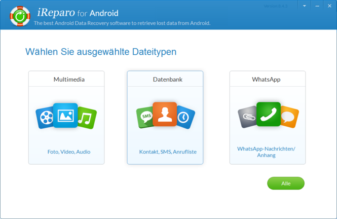 Jihosoft Android Phone Recovery Screenshot