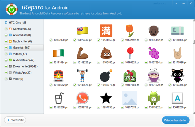 Jihosoft Android Phone Recovery Screenshot 4