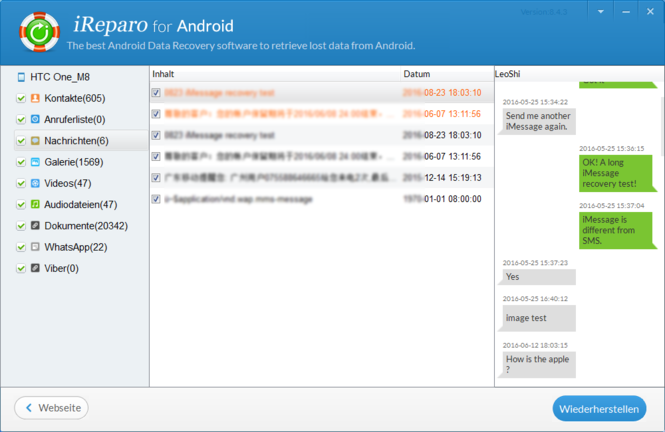 Jihosoft Android Phone Recovery Screenshot 6
