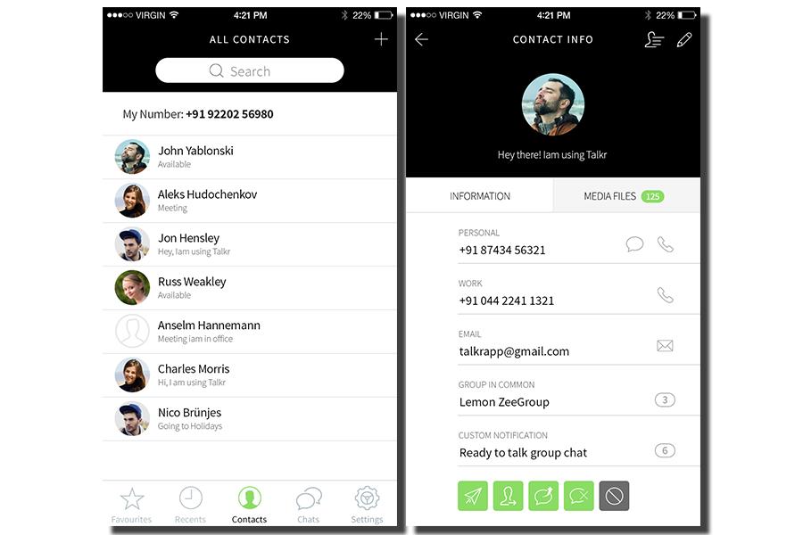 WhatsApp Clone Script - BlaberChat Screenshot 6