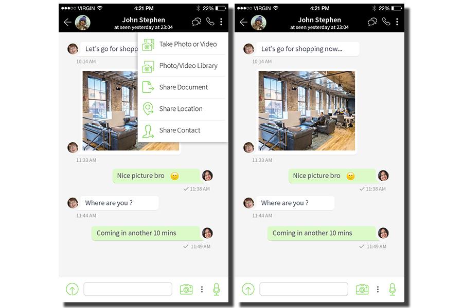 WhatsApp Clone Script - BlaberChat Screenshot 7