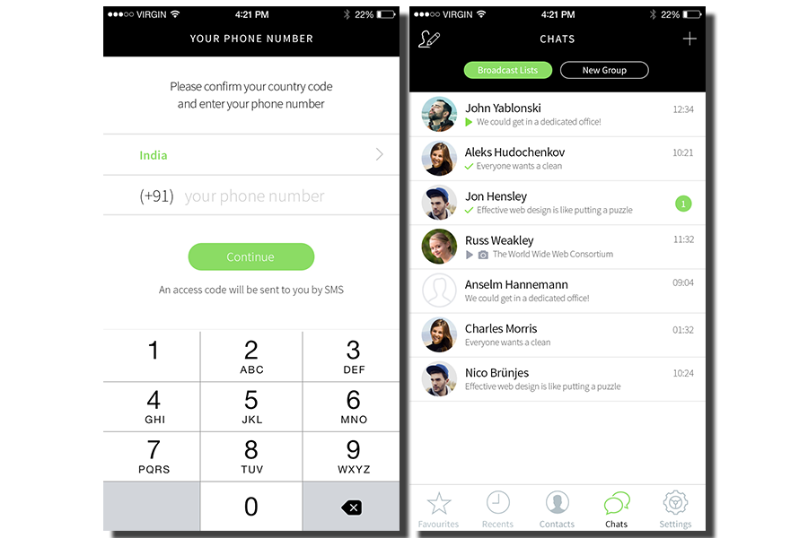 WhatsApp Clone Script - BlaberChat Screenshot 5