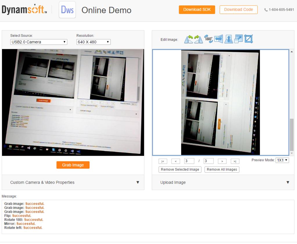 Dynamsoft Camera SDK Screenshot 1