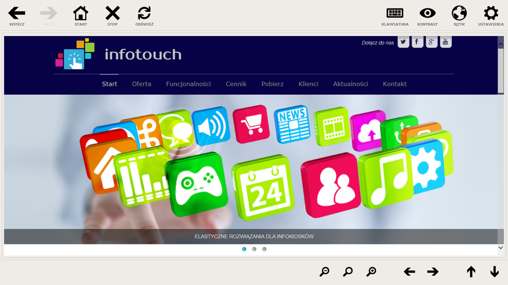 InfoTouch Basic Screenshot