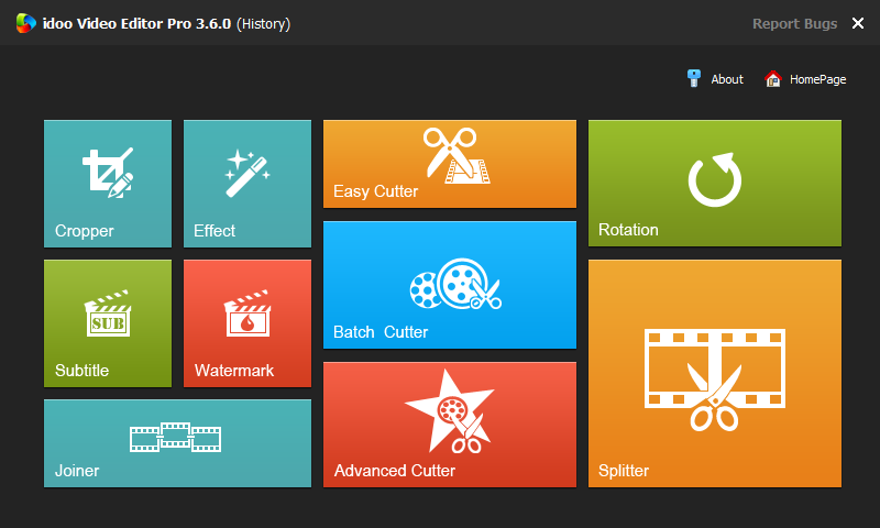 idoo Video Editor Pro 3.6.0 Screenshot 2