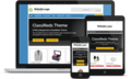 Responsive Classifieds Theme 4