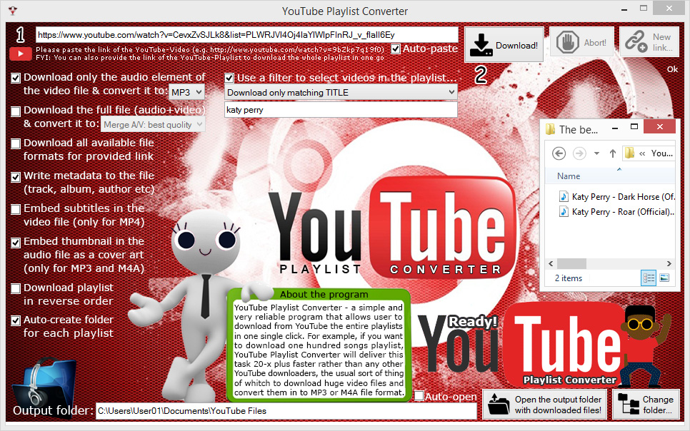 YT Playlist Converter Screenshot 3