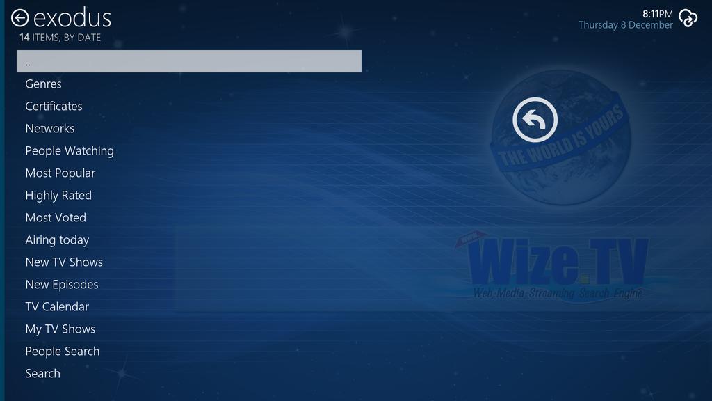 WizeTV Screenshot 2