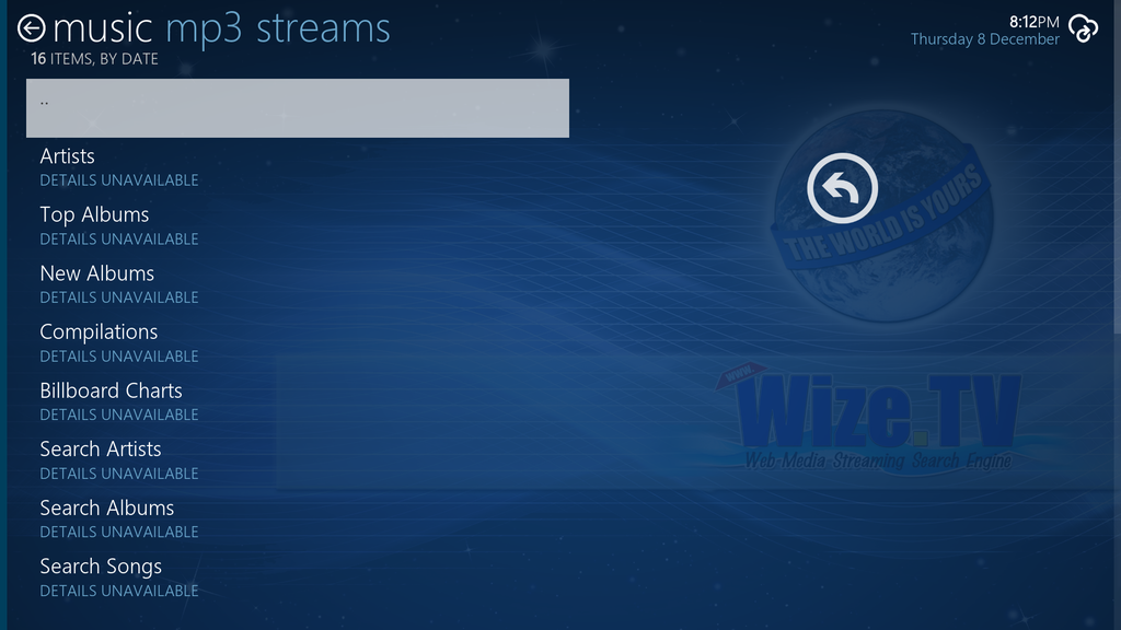 WizeTV Screenshot 4