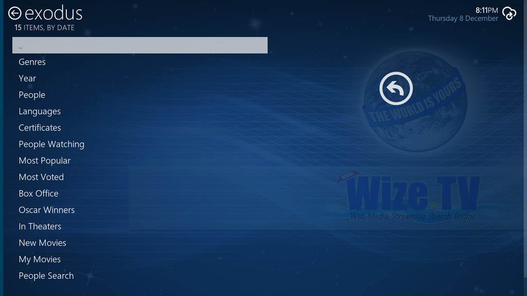 WizeTV Screenshot
