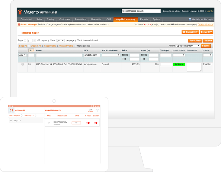 MageMob Inventory Screenshot 2