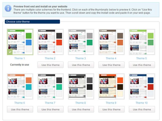 Class Scheduling System Screenshot 10