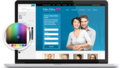 Responsive Dating Theme 3