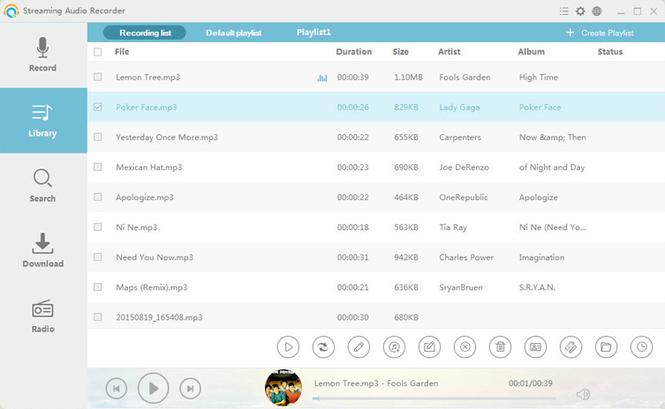 Streaming Audio Recorder Screenshot 4