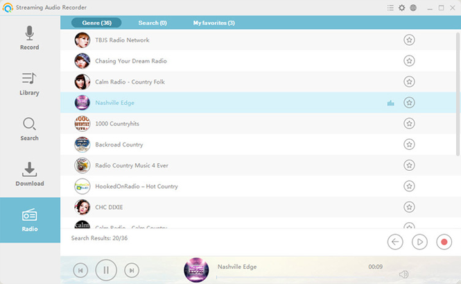 Streaming Audio Recorder Screenshot 3