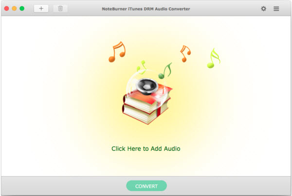 NoteBurner iTunes DRM Audio Converter for Mac Screenshot 1