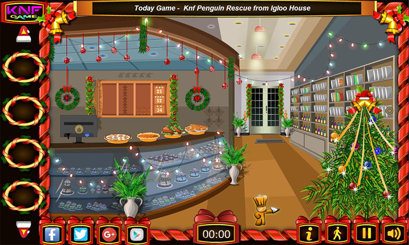 EscapeGames New Year Cake Shop Screenshot