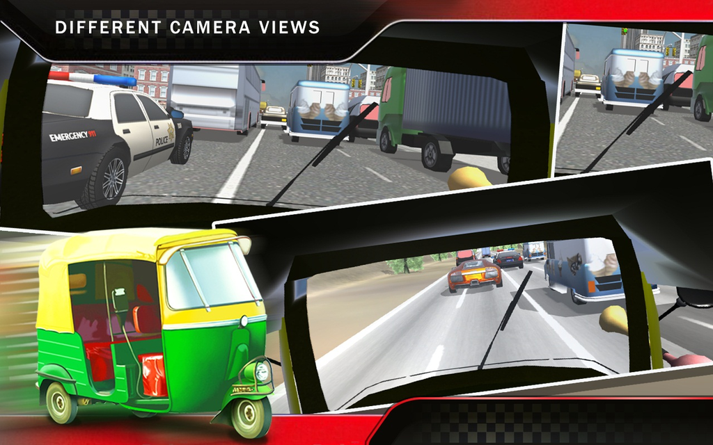 Tuk Tuk Auto Rickshaw Racing Screenshot 1