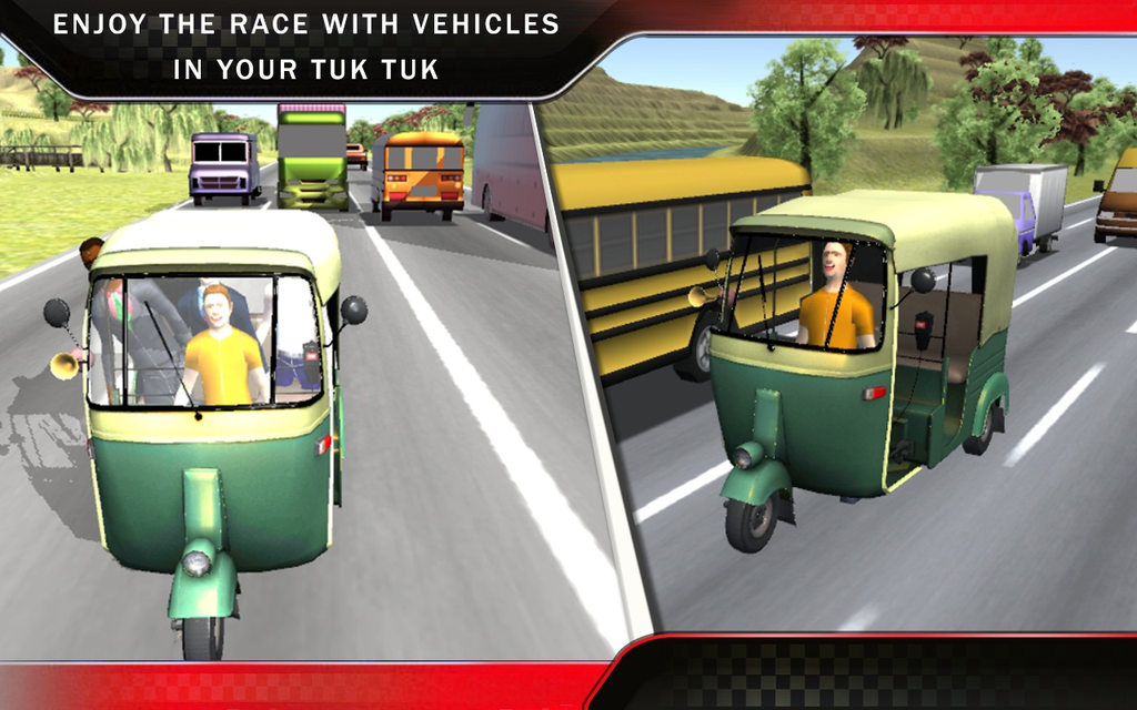 Tuk Tuk Auto Rickshaw Racing Screenshot 3
