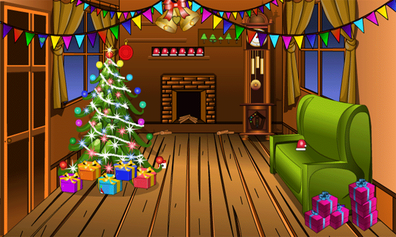 Escape Games - Winter House Screenshot
