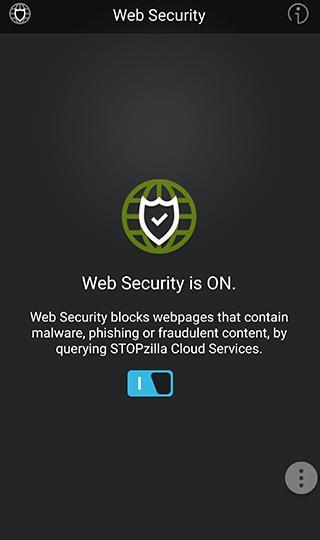 STOPzilla Mobile Security Screenshot 2