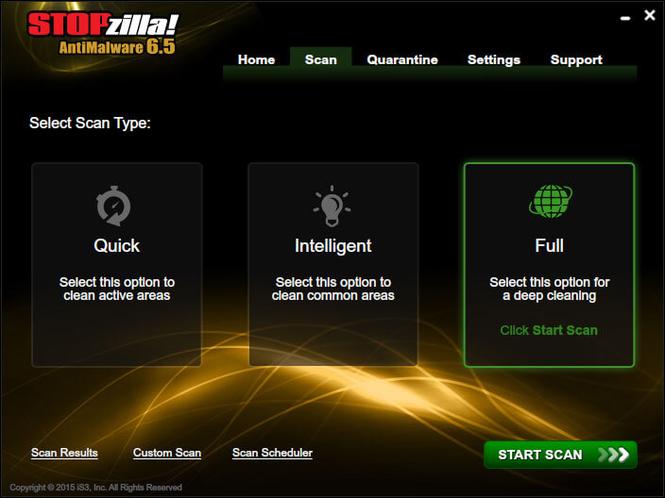 STOPzilla AntiMalware Screenshot 5