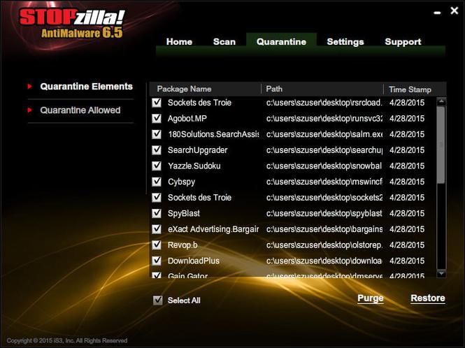STOPzilla AntiMalware Screenshot 4