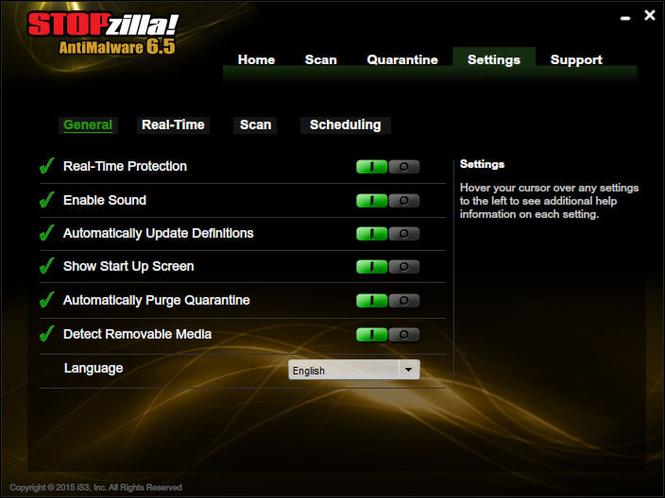 STOPzilla AntiMalware Screenshot 3