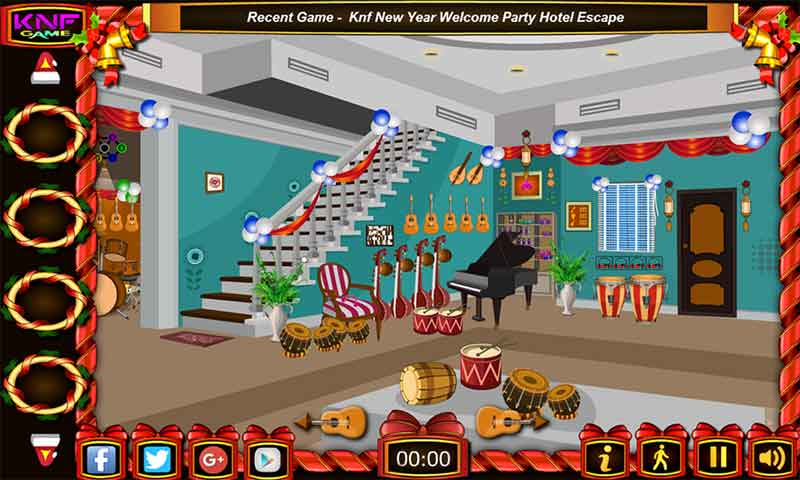 Escape games - Musical Shop Screenshot