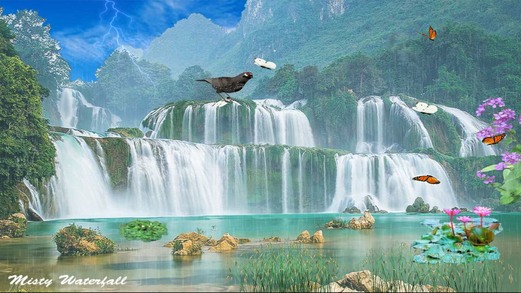 Misty Waterfall Screenshot 2