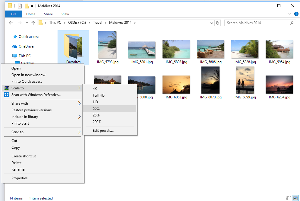 PhotoScaler Screenshot 1