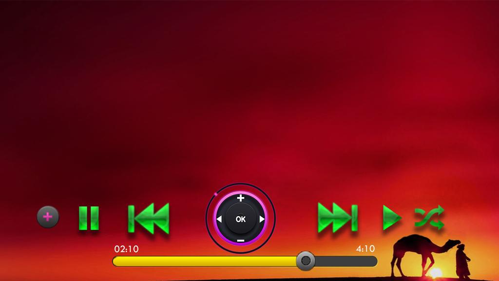 Khan Music Player Screenshot 1